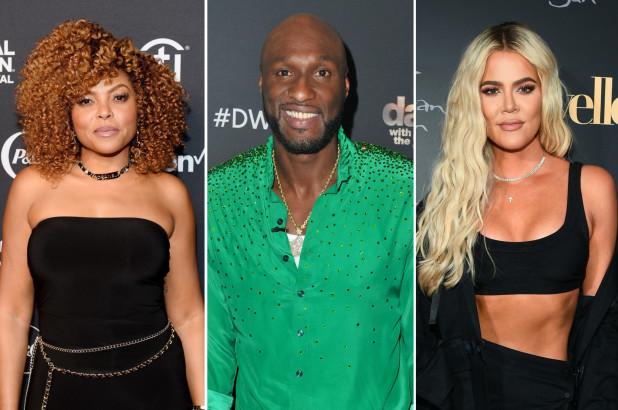 Taraji P Henson, Lamar Odom and Khloe Kardashian
