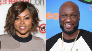 Taraji P Henson and Lamar Odom