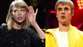Taylor Swift and Justin Bieber