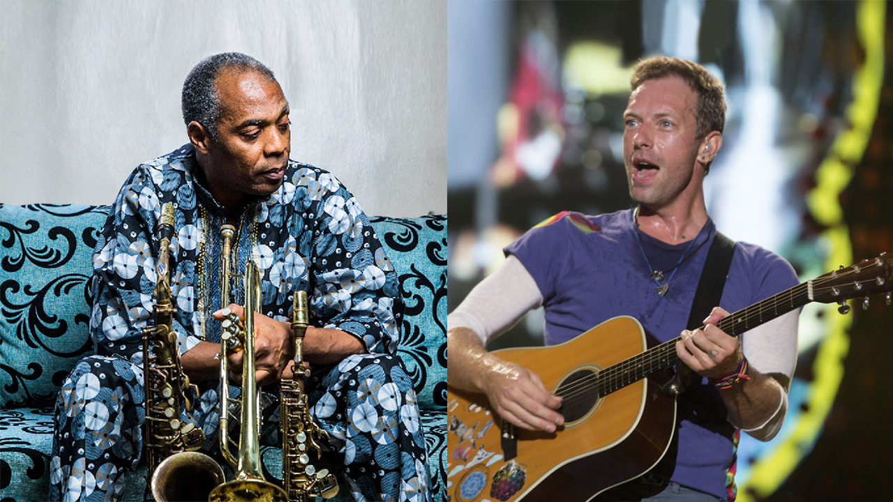 Image result for coldplay and femi kuti