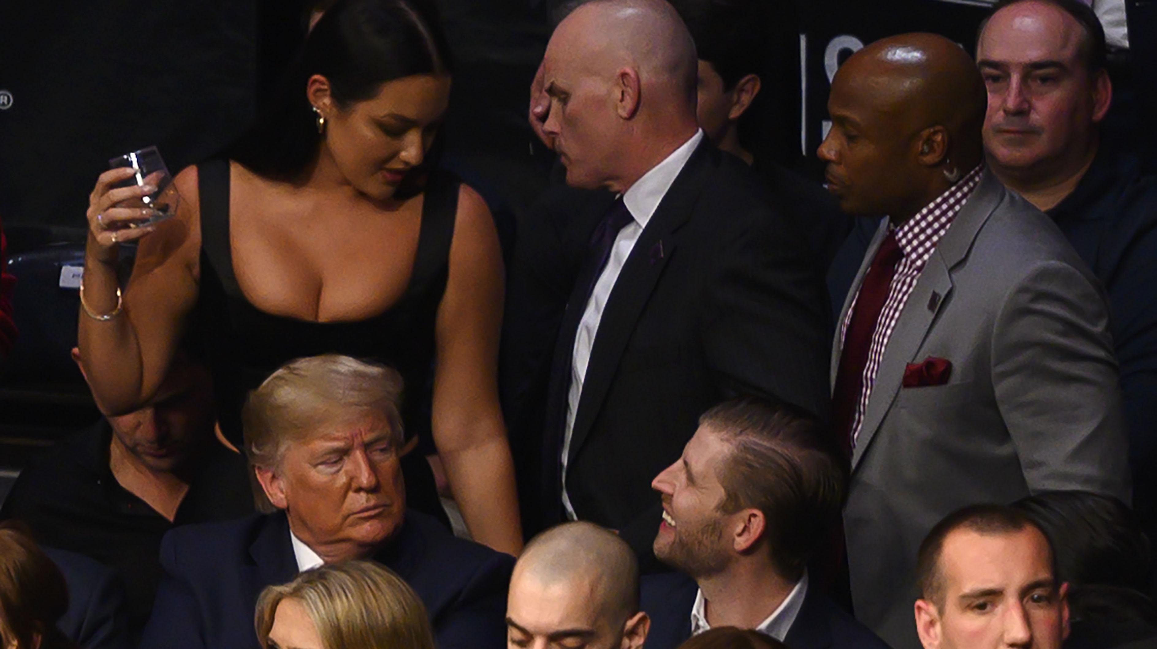 Trump booed at UFC fight night in New York
