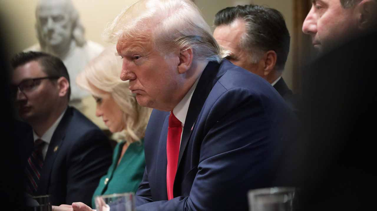 Frustrated Trump lashes out at impeachment probe