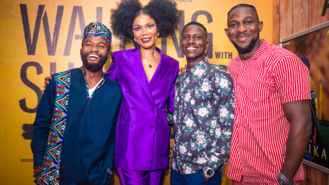 Nollywood Stars Attend Funmi Iyanda's 'Walking With Shadows' Lagos Premiere - Guardian