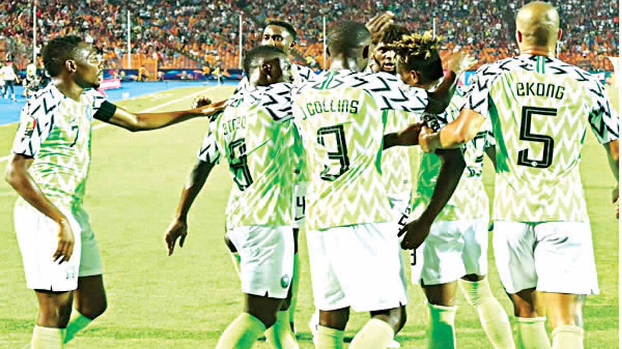 Fans hail Osimhen's heroic display in Nigeria win against Lesotho