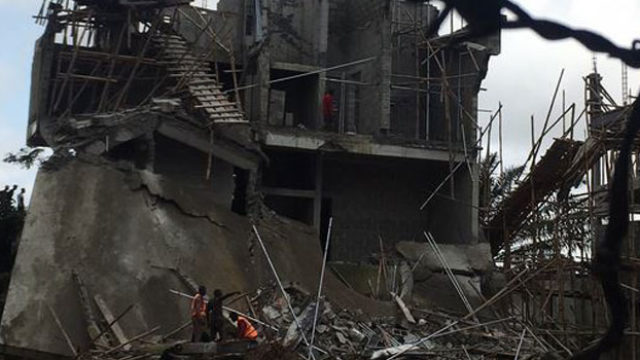 Why Lagos government can't take over building collapse sites - Guardian