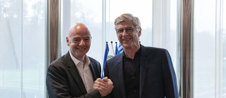 FIFA names Arsene Wenger global football development chief