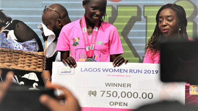 Kenyan wins Lagos Women Run as Njoku emerges veteran champion - Guardian Nigeria