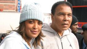 Laila Ali and Muhammad Ali
