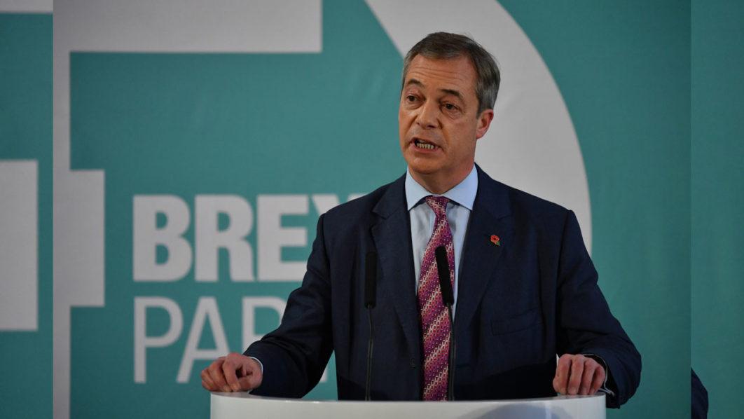 Farage withdraws Brexit threat to PM Johnson