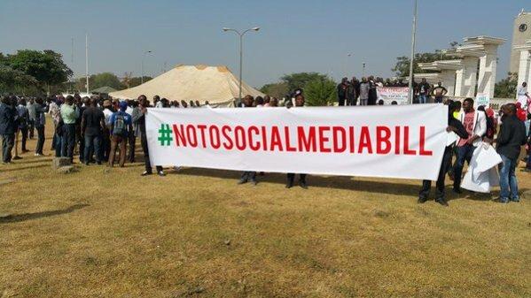 No To Social Media Bill