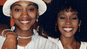 Robyn Crawford and Whitney Houston