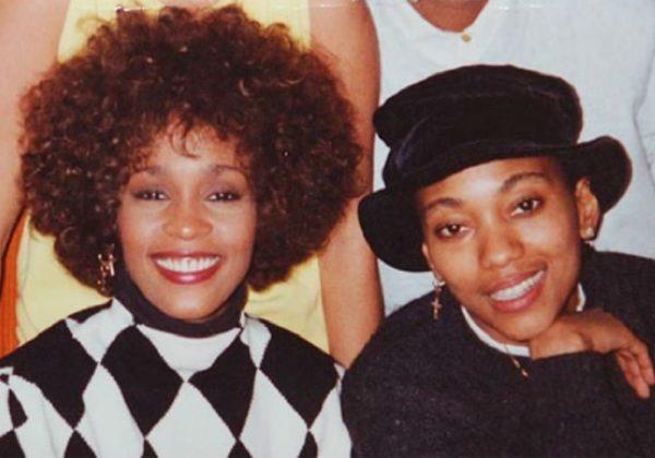 Robyn Crawford and Whitney Houston