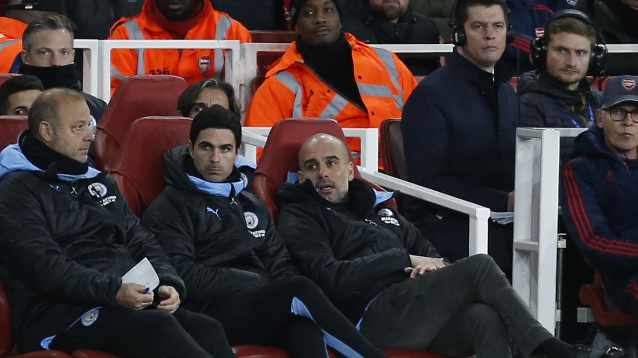 Guardiola confirms Arteta talks with Arsenal