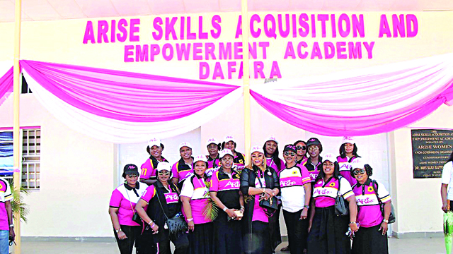 AW empowers grassroots women with vocational trainings
