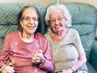 Kathleen Saville and Olive Woodward