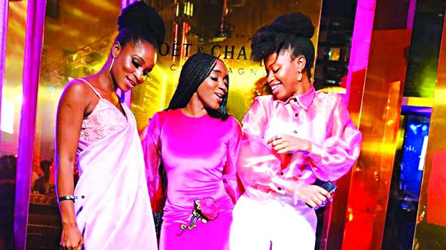 Omotola, Ireti Doyle, Beverly Naya, others turn up in style for La Vie En Rose