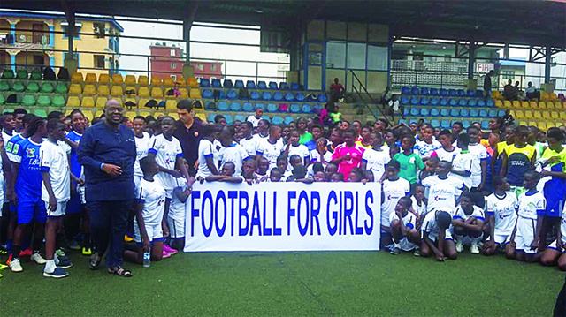 Over 200 girls begin training at Oshoala Football Championship