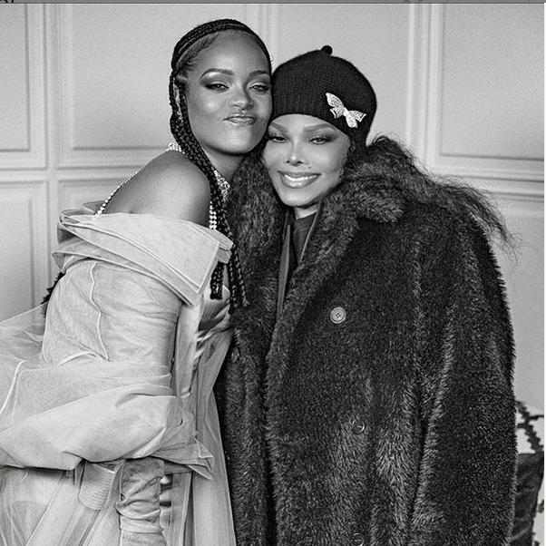 Rihanna and Janet Jackson