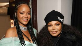 Rihanna and Janet Jackson