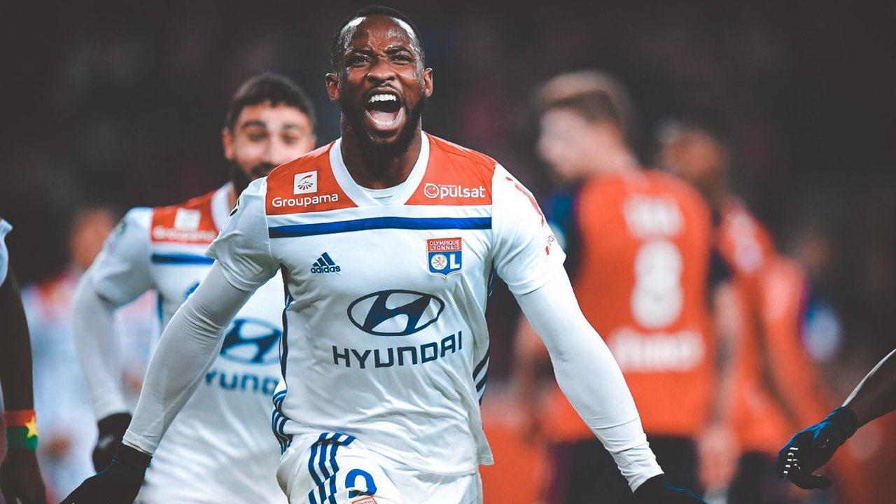 Man United to bid £43m for Lyon striker Dembele