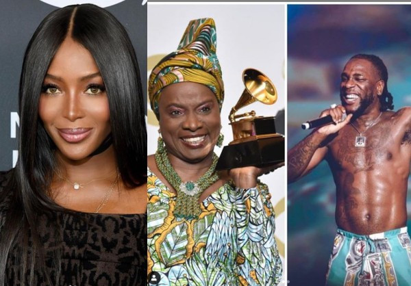 Naomi Campbell, Angelique Kidjo and Burna Boy