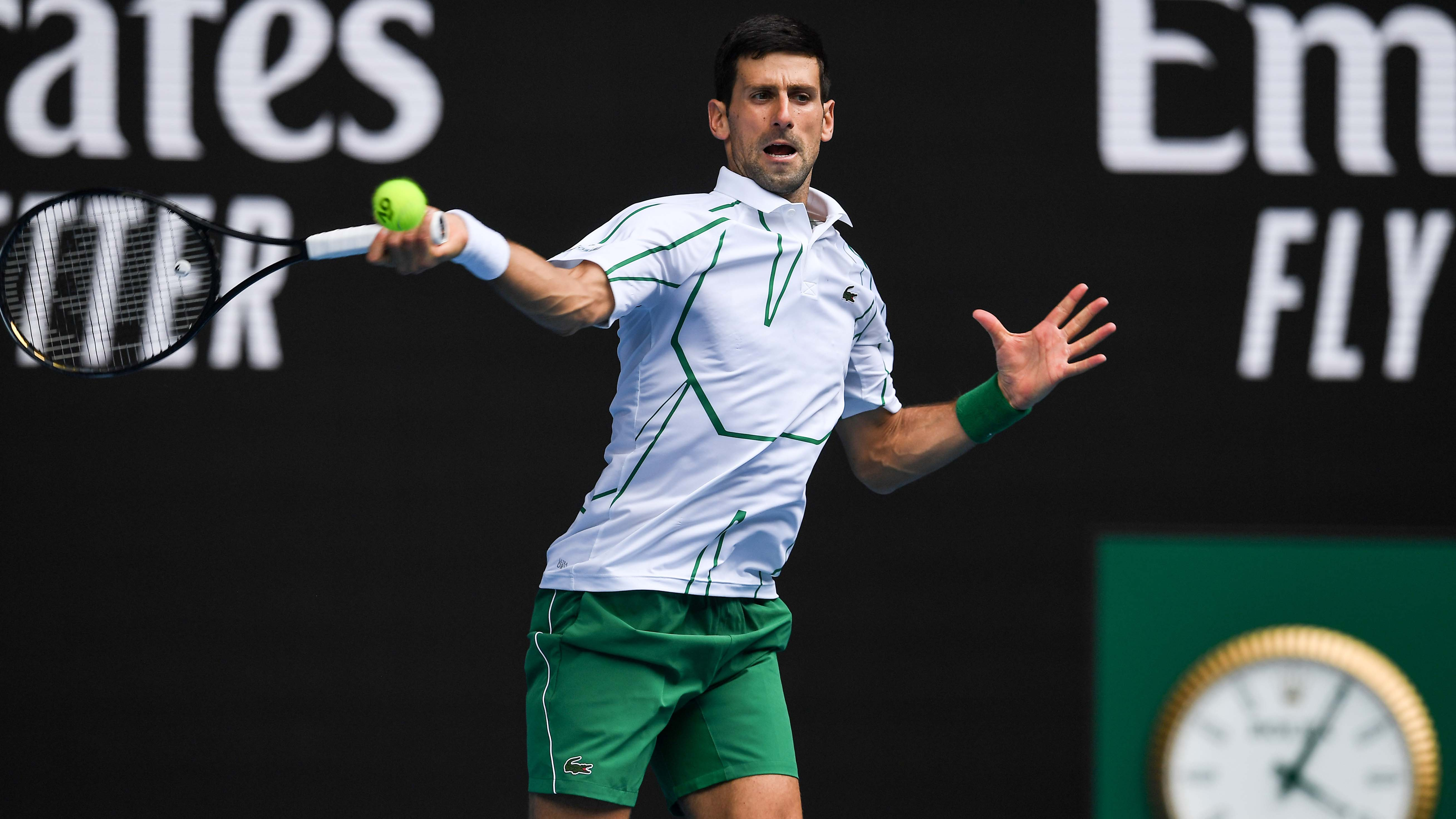Djokovic, Federer, Osaka, Serena through to third round
