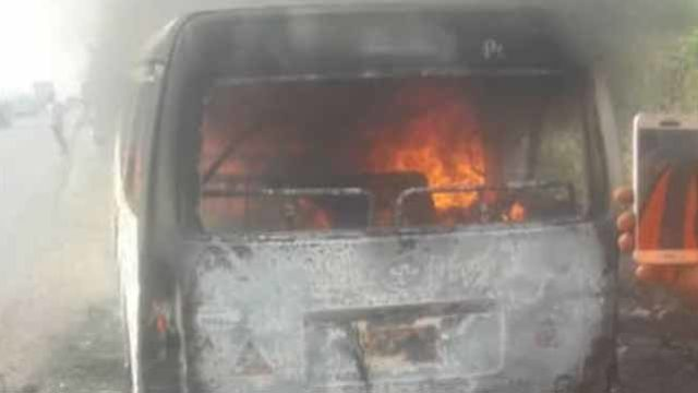 8 burnt to death in Lagos-Ibadan expressway accidentNigeria