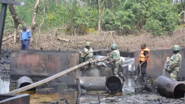 Military captures illegal refinery operators in Niger Delta creeks   The  Guardian Nigeria News - Nigeria and World News — Nigeria — The Guardian  Nigeria News – Nigeria and World News