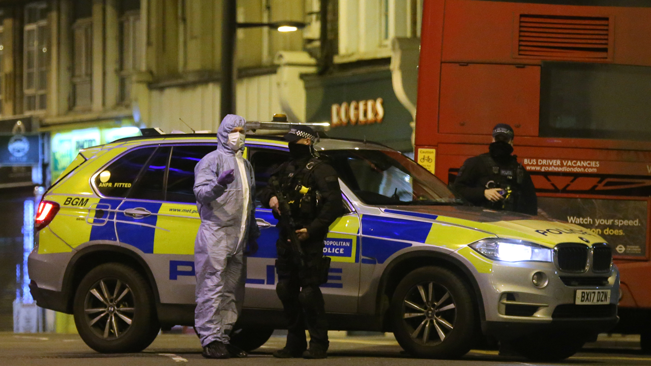 Police shoot man dead after London stabbing incident described as terrorism
