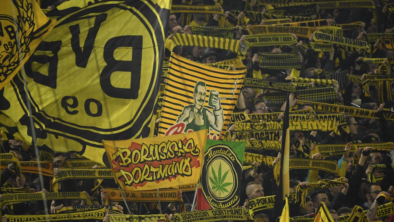 Dortmund S Yellow Wall The Gigantic Monster Lying In Wait For Psg Sport The Guardian Nigeria News Nigeria And World News