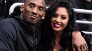 Kobe and Vanessa Bryant