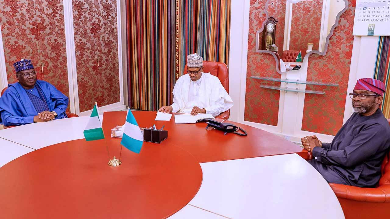 Buhari under pressure, meets with Lawan, Gbajabiamila over ...
