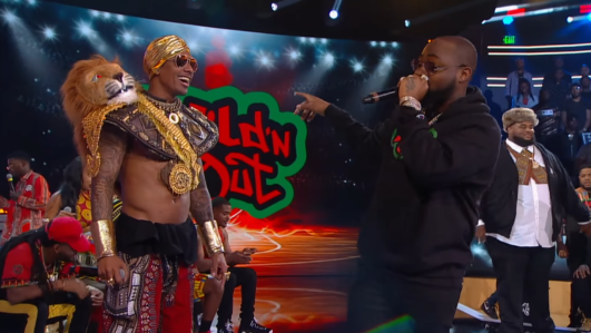 Davido on Wild 'N Out