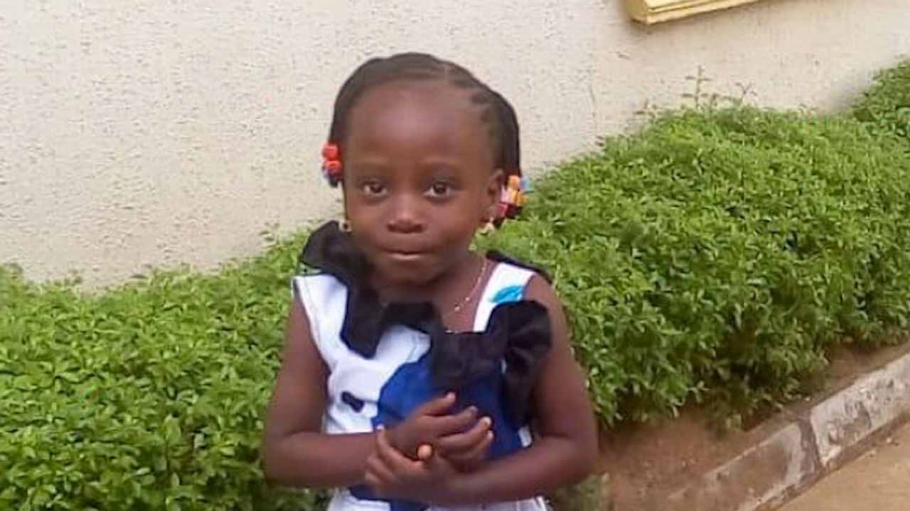 Four-year-old girl abducted in Ikorodu