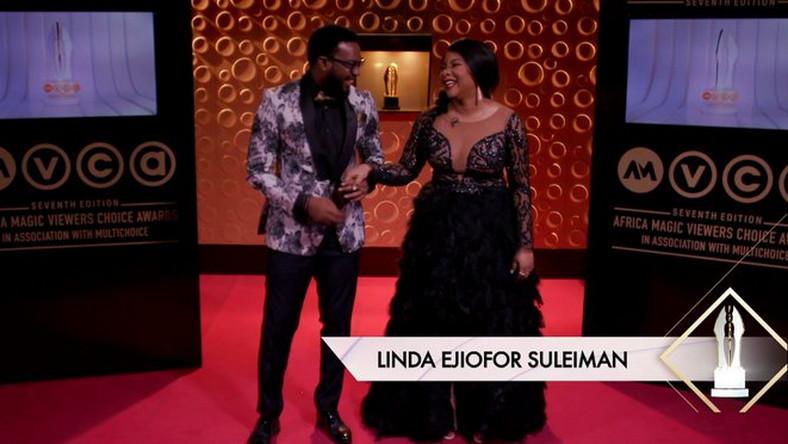 Linda Ejiofor and Ibrahim Suleiman