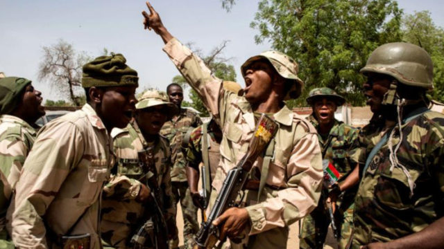 Troops eliminate arms supplier, 4 bandits in North West