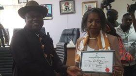 INEC presents certificate of return to Diri, deputy