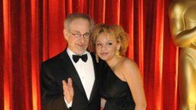 Steven and Mikaela Spielberg