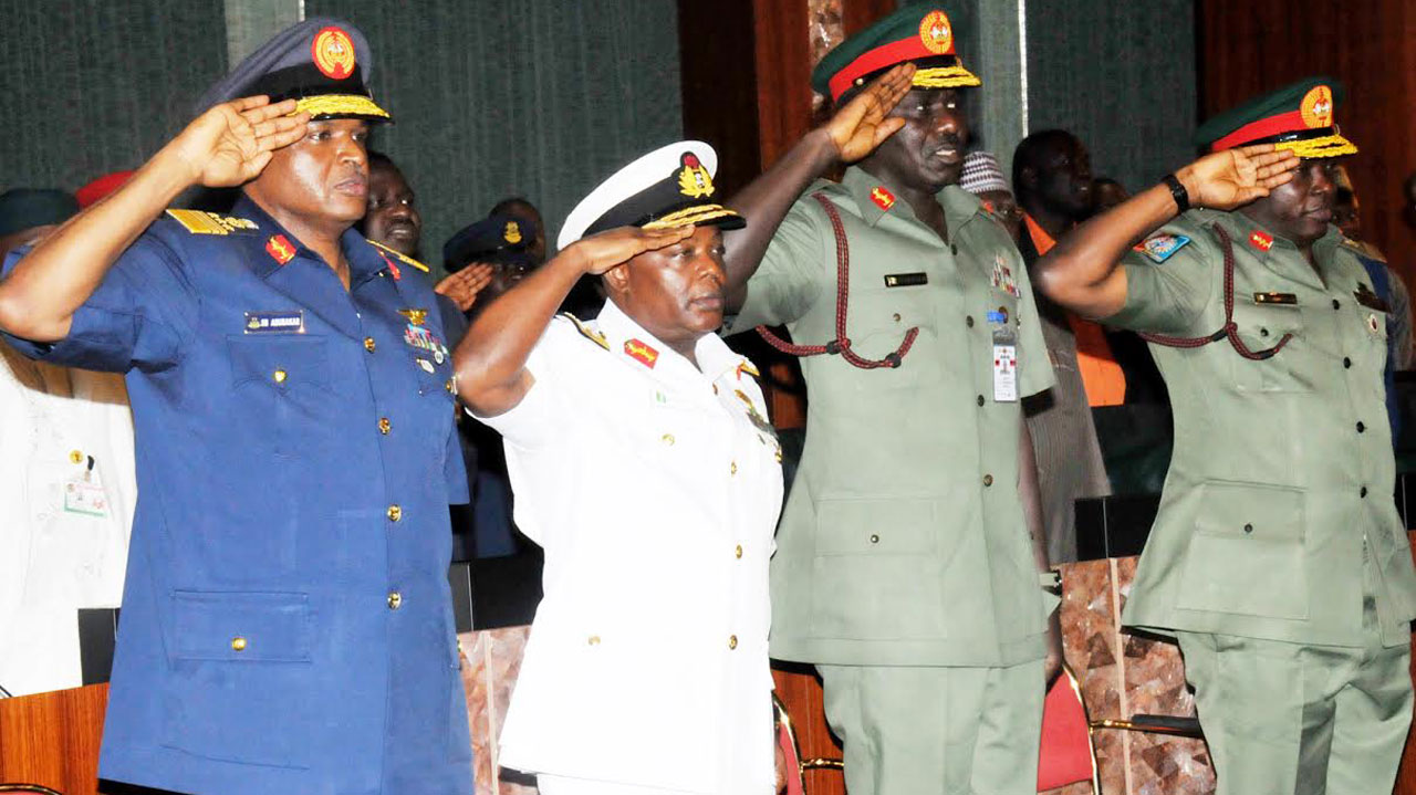 Resign now, Reps tell service chiefs, NSA