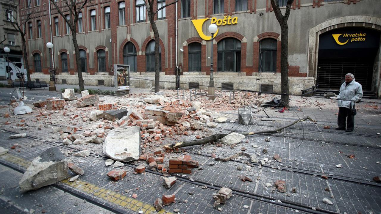Powerful Quake Damages Buildings In Croatia Capitalworld The Guardian Nigeria News Nigeria And World News