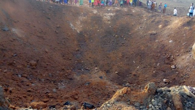 """""""Is It An Asteroid?"""" Nigerians Question Strange Explosion In Akure"""