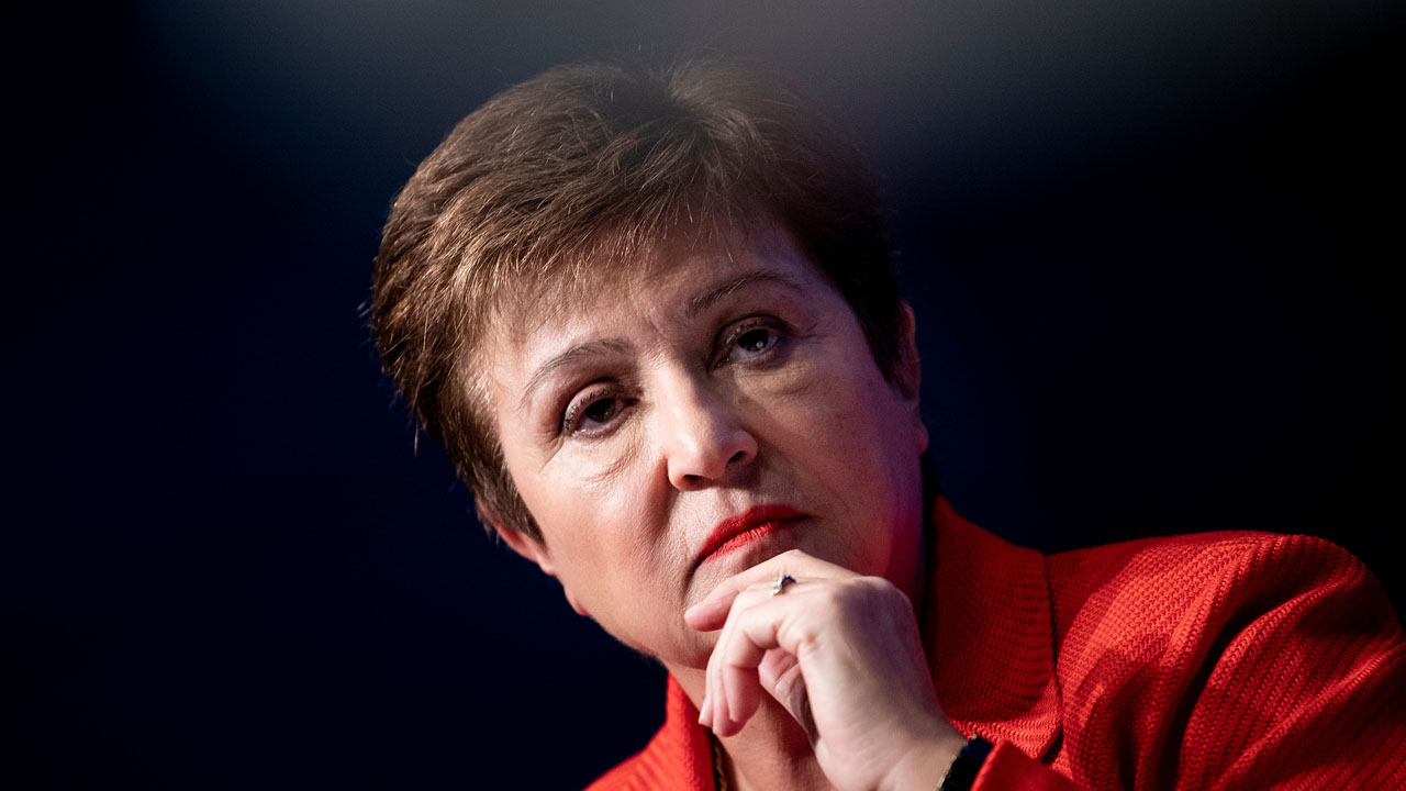 IMF Chief Kristalina Georgieva