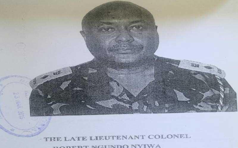 Lieutenant Colonel Robert Ngundo