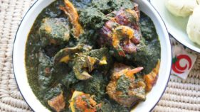 Nigerian Black soup