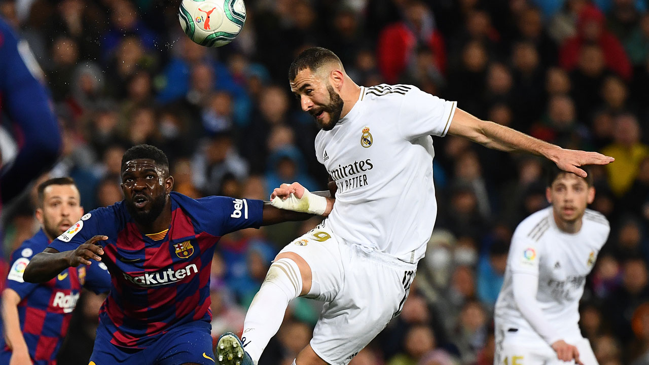 Real Madrid Defeat Barcelona In Clasico To Regain Top Spot In La LigaSport The Guardian Nigeria News Nigeria And World News