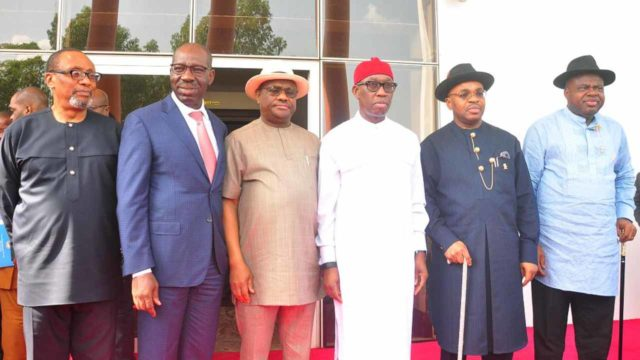 South-South governors set for regional security outfit — Nigeria — The  Guardian Nigeria News – Nigeria and World News