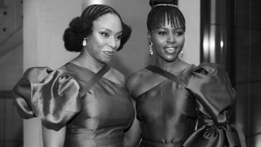 Chimamanda Ngozi-Adichie and Lupita Nyong'O