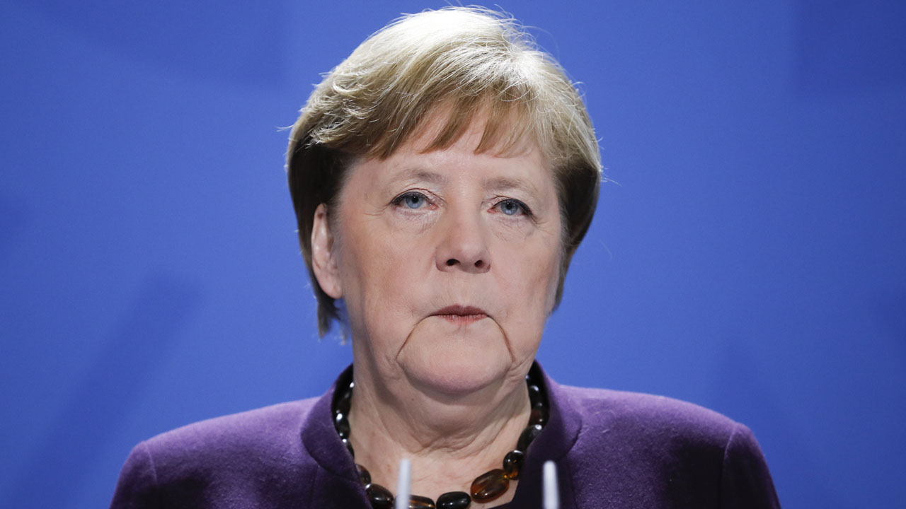 Germany's Merkel returns to office after quarantine ...