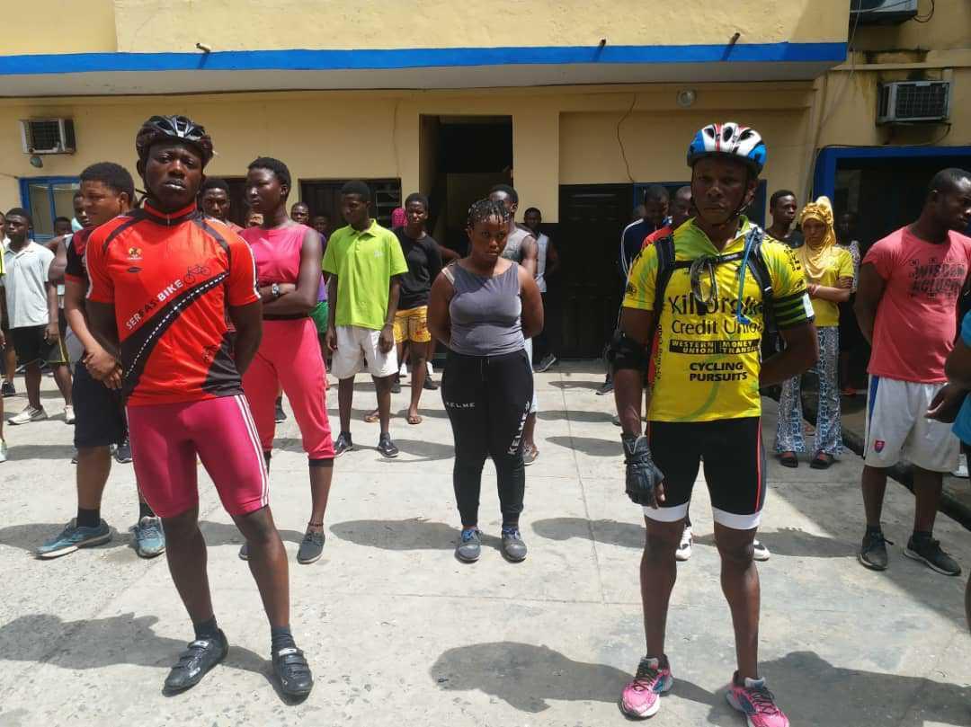 Police arraigns 202 stay-at-home order violators in Lagos