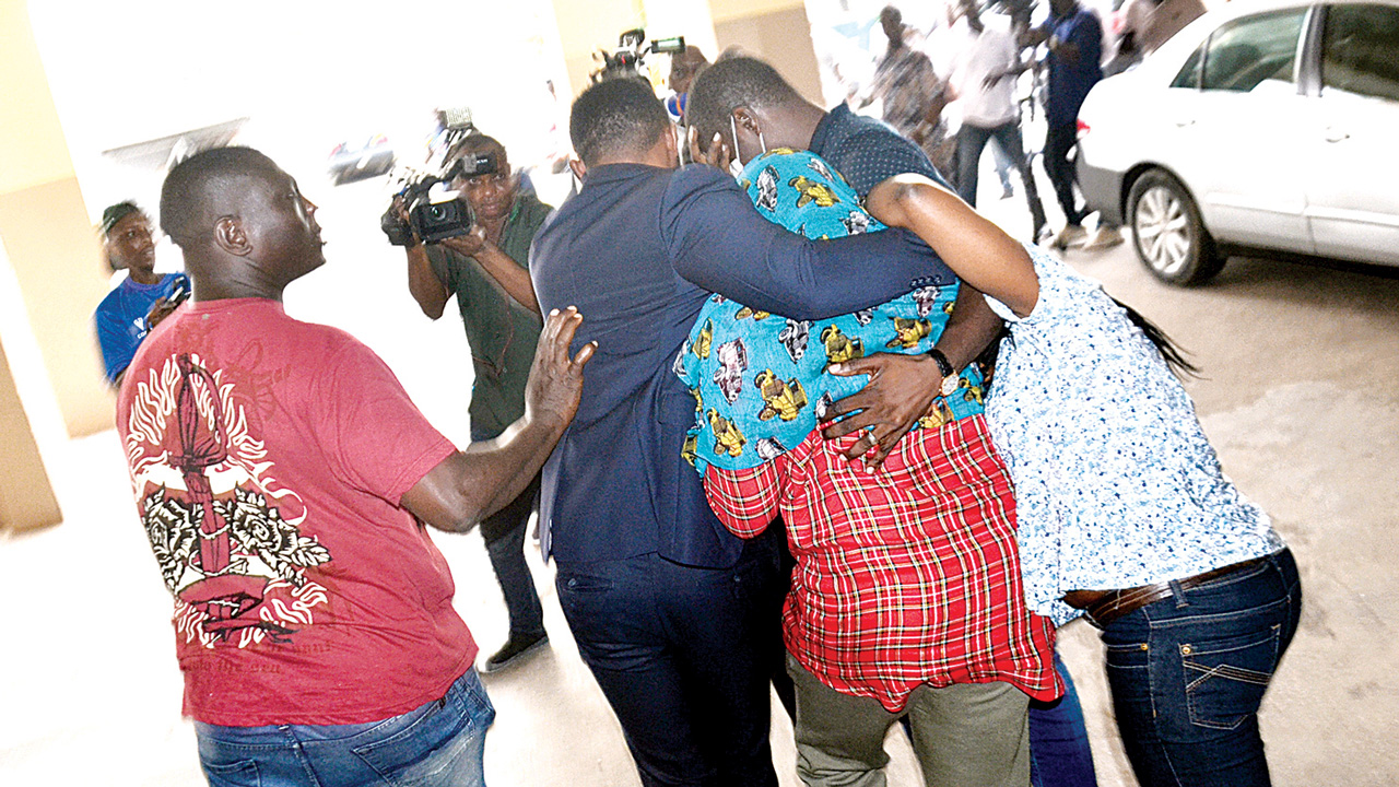 Actress Akindele, husband sentenced to 14-day community service ...
